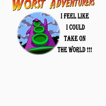 WORST ADVENTURERS - Purple Tentacle WORLD by haegiFRQ
