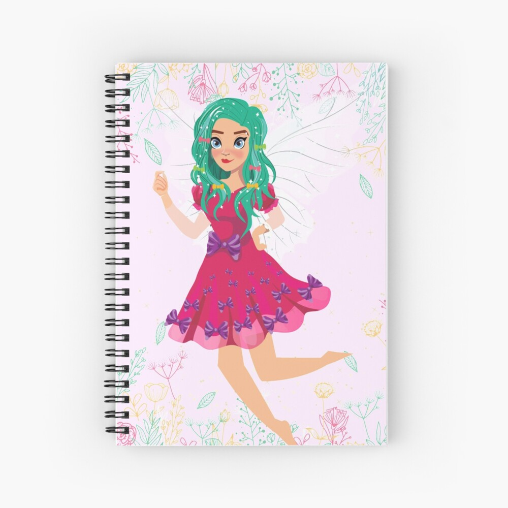 Ruby The Ribbon Fairy At Play™ Spiral Notebook