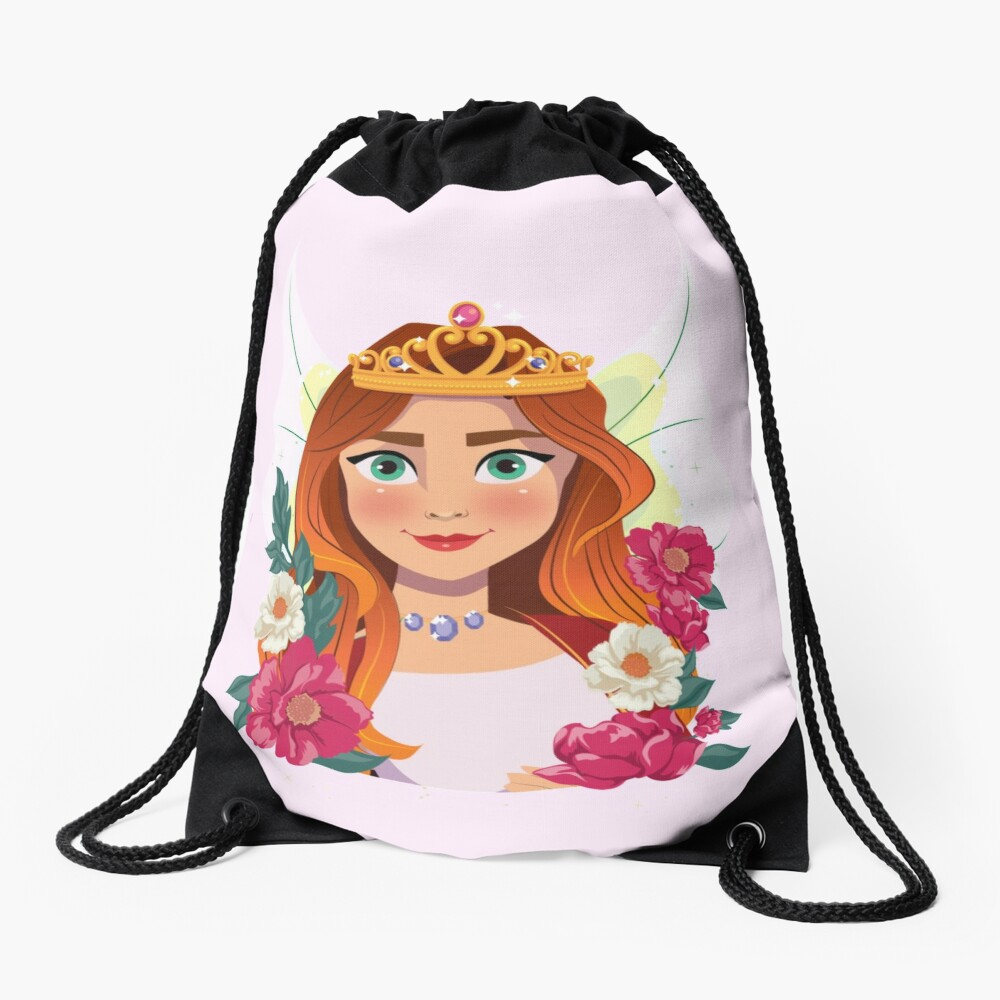 Queen Olivia The Fairy Queen™ Drawstring Bag