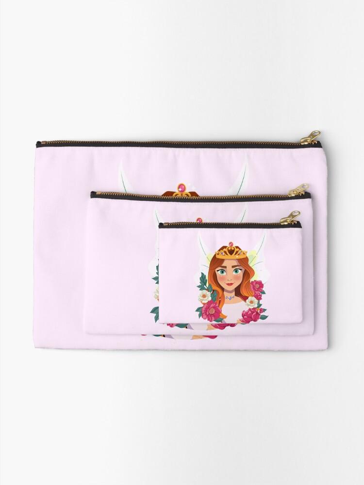 Alternate view of Queen Olivia The Fairy Queen™ Zipper Pouch