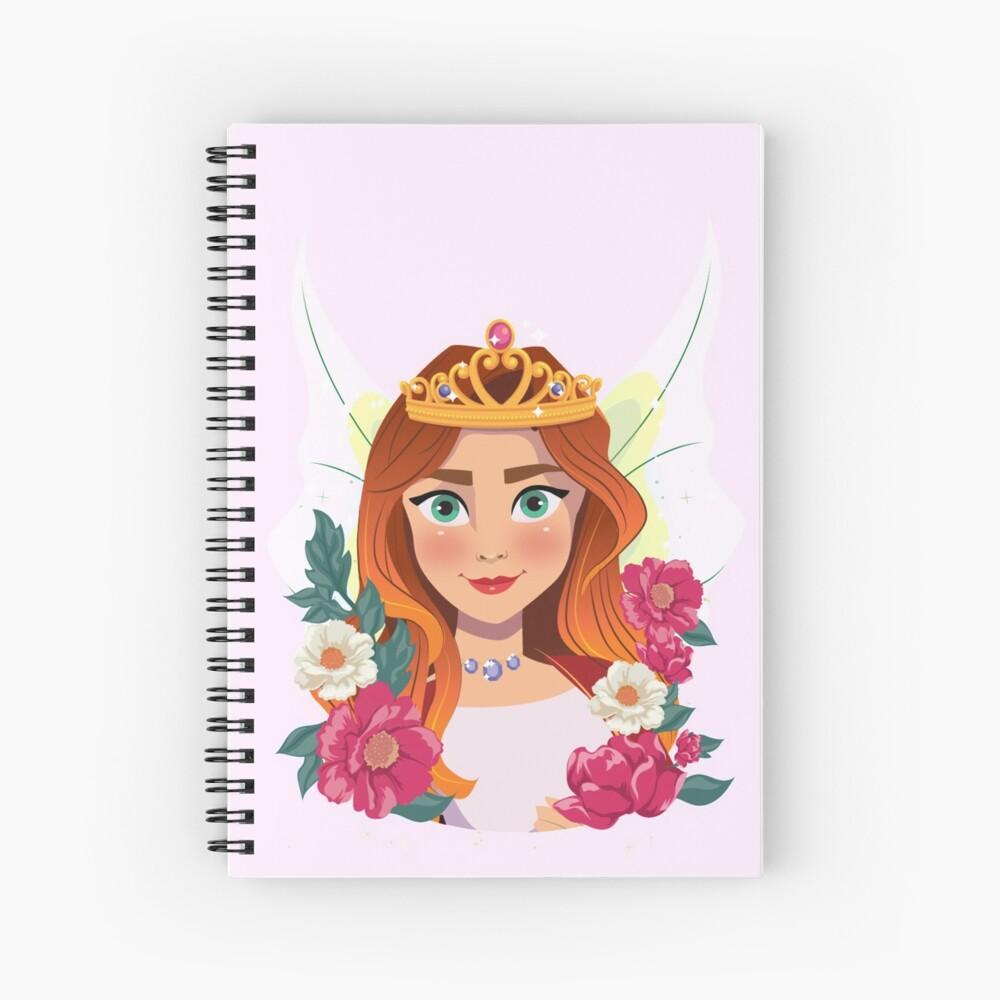 Queen Olivia The Fairy Queen™ Spiral Notebook