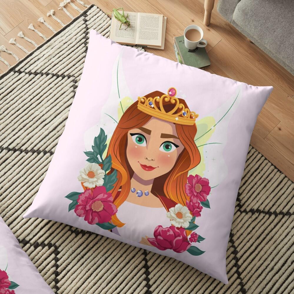 Queen Olivia The Fairy Queen™ Floor Pillow
