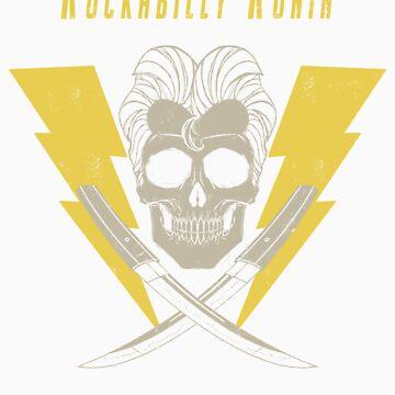 RockaBilly Ronin by Ronin-ink