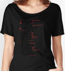 In Death Characters Women's Relaxed Fit T-Shirt