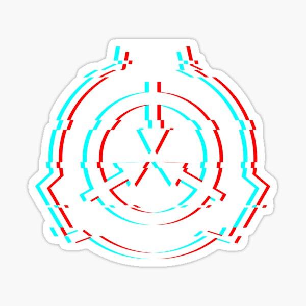 SCP Foundation Glitch Sticker