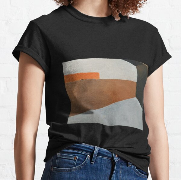 abstract, perspective in earth tones Classic T-Shirt