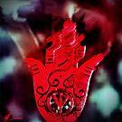 Hand of peace & fire by Annabellerockz
