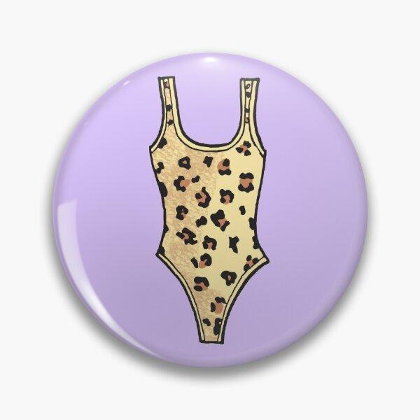 Pole Dancing Essential - Leopard Bodysuit Pin