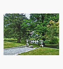 Barn Reflections, Ringwood Manor State Park, NJ Photographic Print