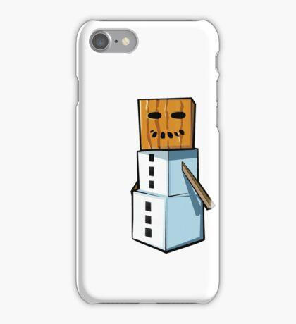 Minecraft Snowman & Chicken iPhone Case/Skin