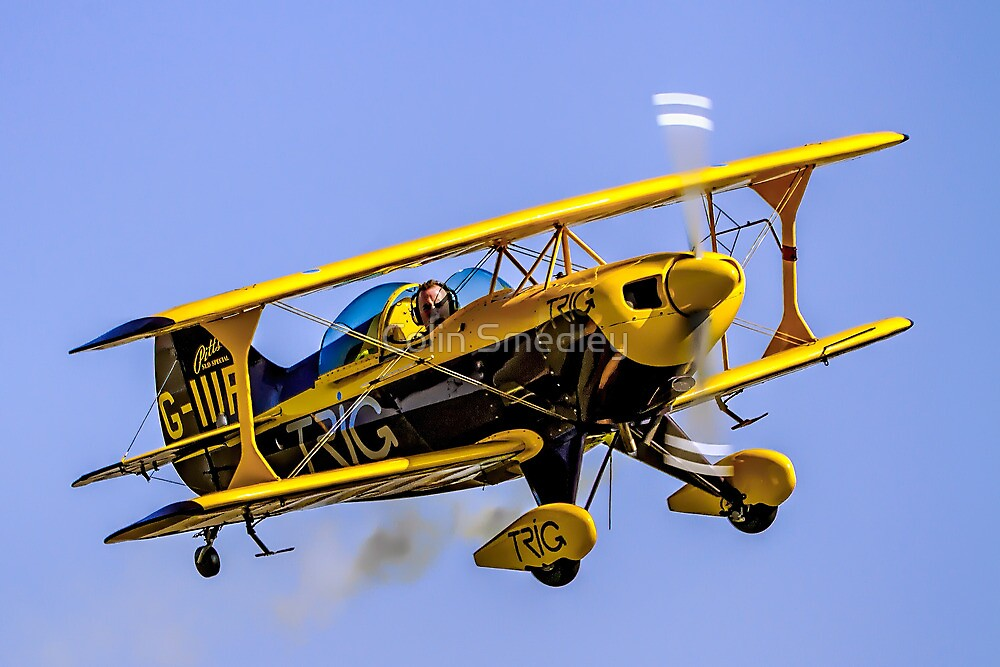 Pitts S-1D Special G-IIIP by Colin Smedley