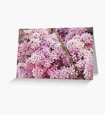Purple. Greeting Card