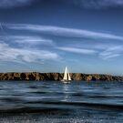 Sailing past Alderney by NeilAlderney