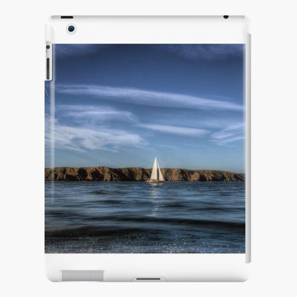 Sailing past Alderney iPad Snap Case