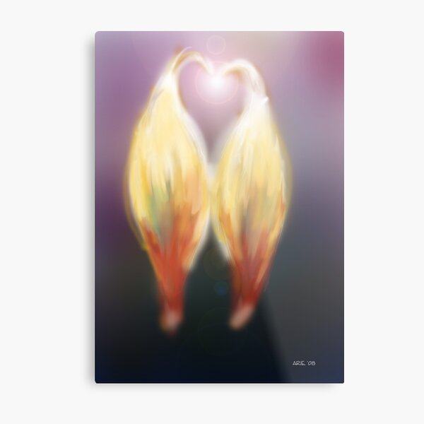 Twin Flame Metal Print