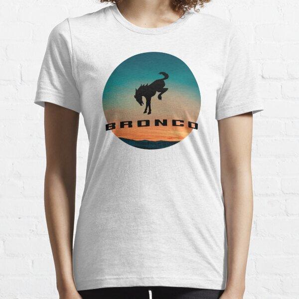Ford Bronco logo Sunset  Essential T-Shirt