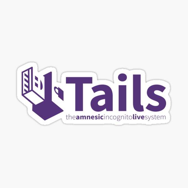 Tails Linux Sticker