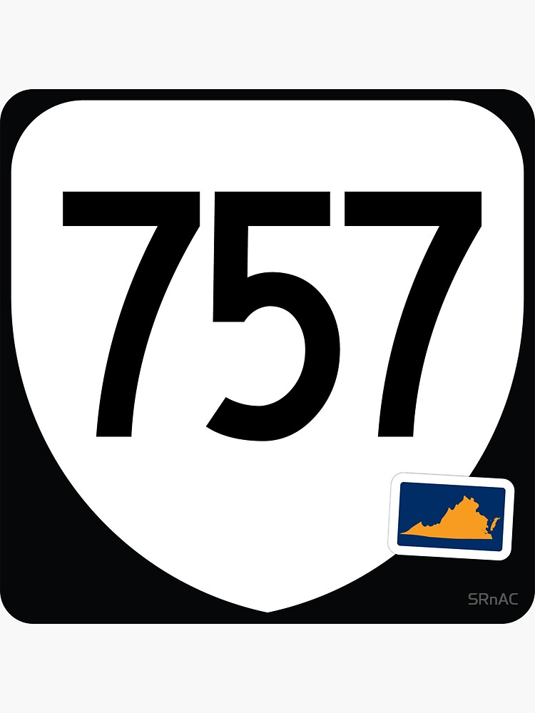 Virginia State Route 757 (Area Code 757) by SRnAC