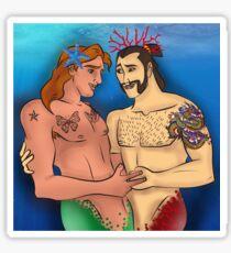 Adam and Shang Sticker