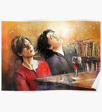 Dylan Moran and Tamsin Greig Poster