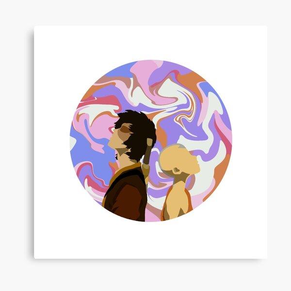 Avatar: The Last Airbender Dragon Dance Canvas Print