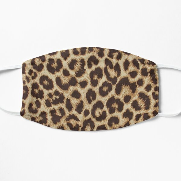 Leopard Print Flat Mask