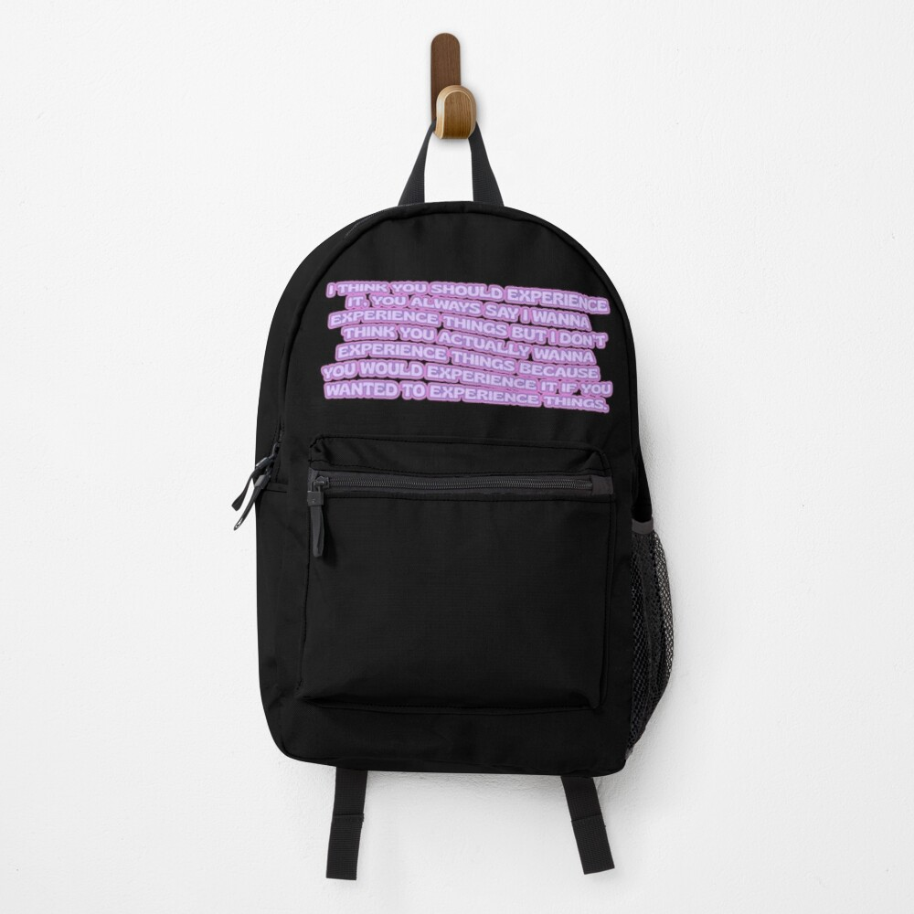 experience (kardashian pack 2) Backpack
