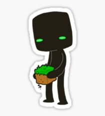 Minecraft Enderman Sticker