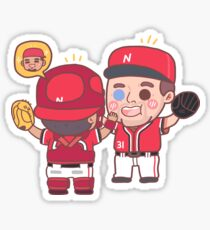 No-Hitter Hugs (Pt. 2) Sticker