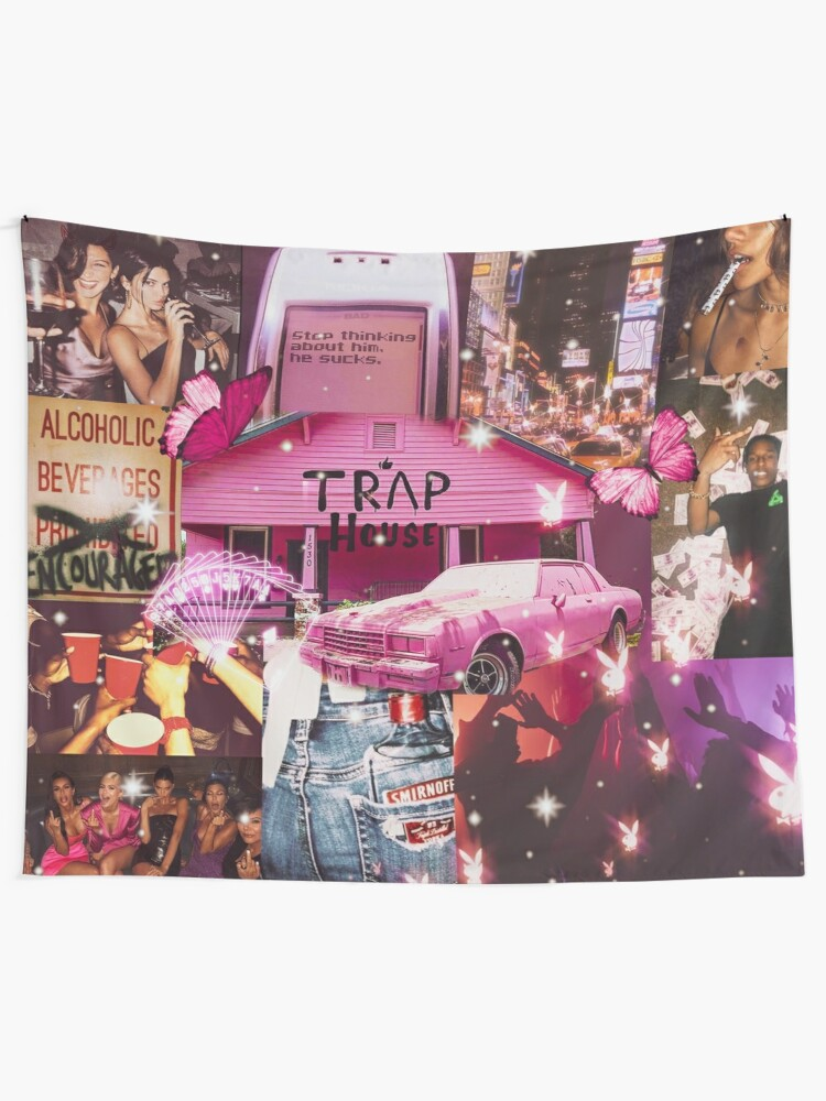 Alternate view of Trap House Tapestry
