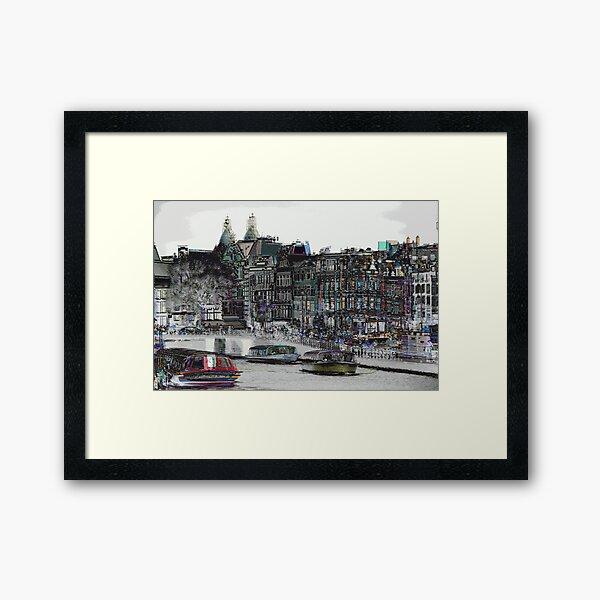 Amsterdam 10 Framed Art Print
