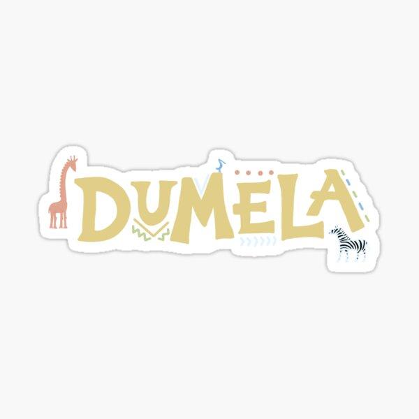 Dumela Sticker