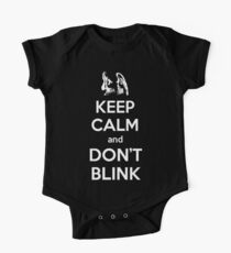 Weeping Angels Keep Calm Kids Clothes