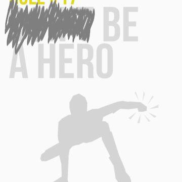 Zombie Survival Guide - Rule #17: Be A Hero von AlexNoir
