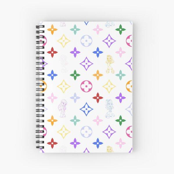RAINBOW Y2K 2000S BRATZ designer print Spiral Notebook