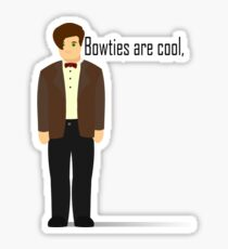 Dr Who, Bowties are cool. Sticker