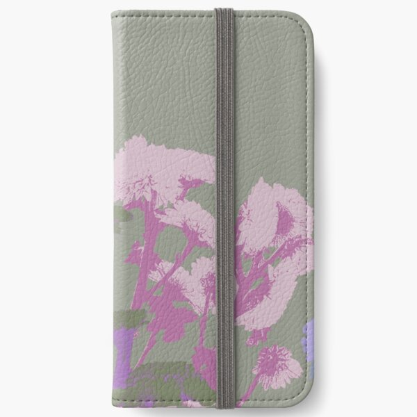 Chrysanthemums in Pastels #11 iPhone Wallet