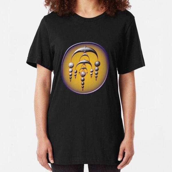 Crop Circle Winterbourne - Wiltshire 2007 Slim Fit T-Shirt