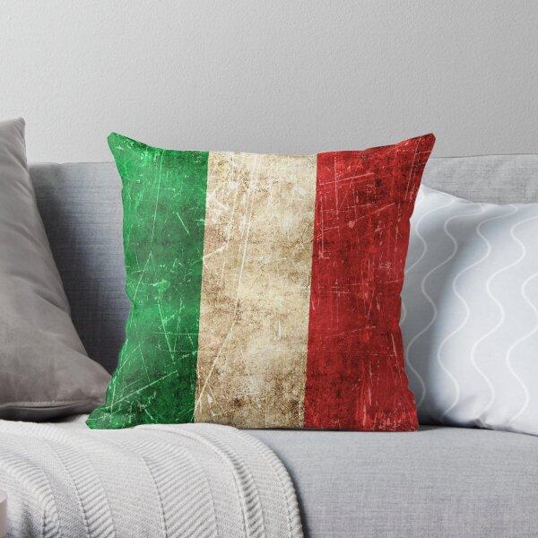 Italian Flag Pillows Cushions Redbubble