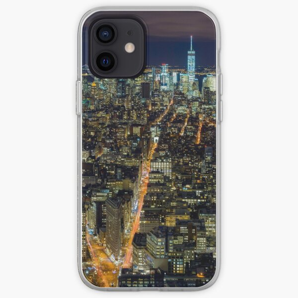 Downtown Manhattan iPhone Soft Case