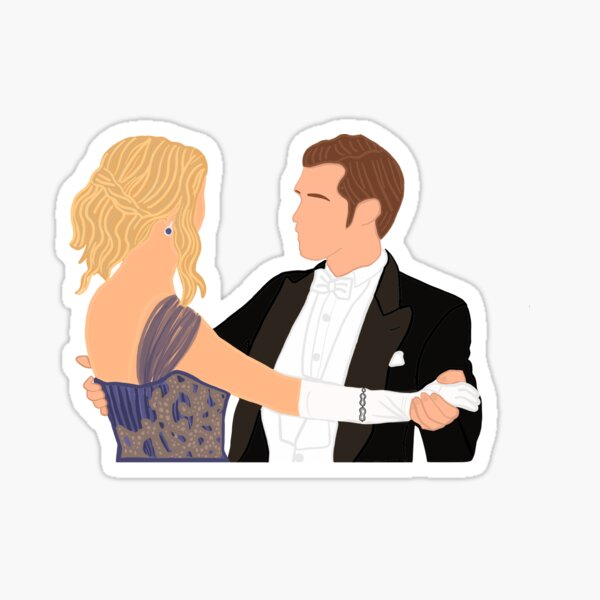 Klaus and Caroline Sticker