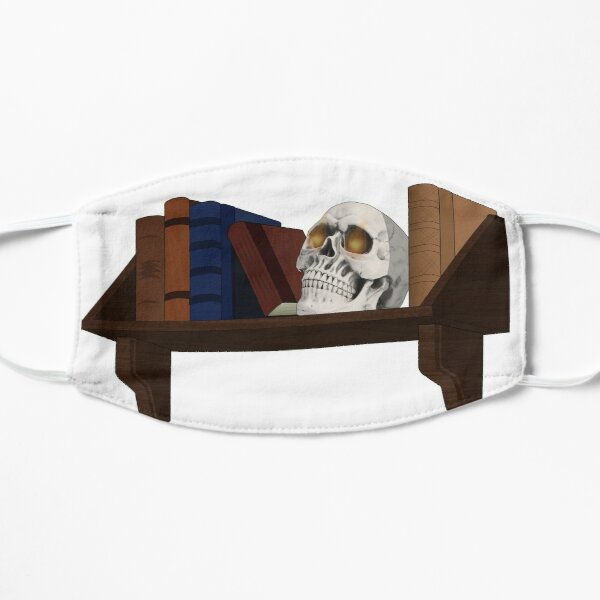 Bob on a Shelf Flat Mask