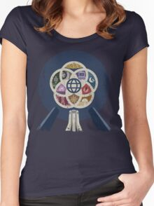 EPCOT Center iPhone and TShirt Women's Fitted Scoop T-Shirt