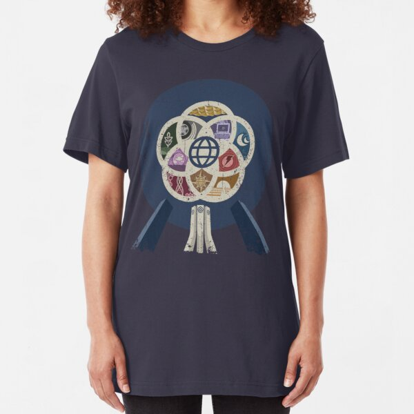 EPCOT Center iPhone and TShirt Slim Fit T-Shirt
