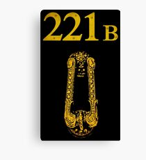 Sherlock - 221B Canvas Print