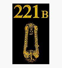 Sherlock - 221B Photographic Print