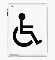 Disabled Symbol iPad Case/Skin