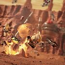 Battle of Geonosis by Shobrick