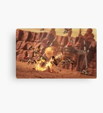 Battle of Geonosis Canvas Print