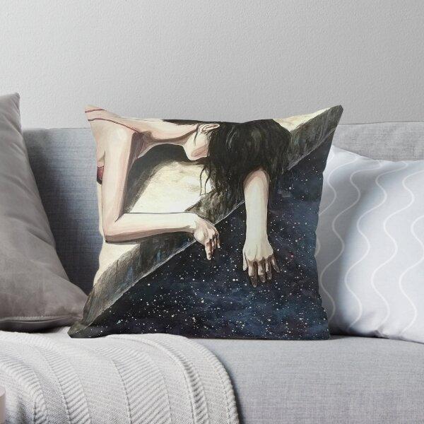 Edge of the universe Throw Pillow